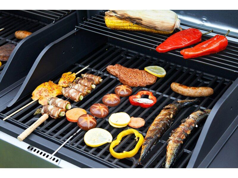 Gas Holzkohlegrill Hudsonville : Gas kohle grill kombination grill kombi gas kohle