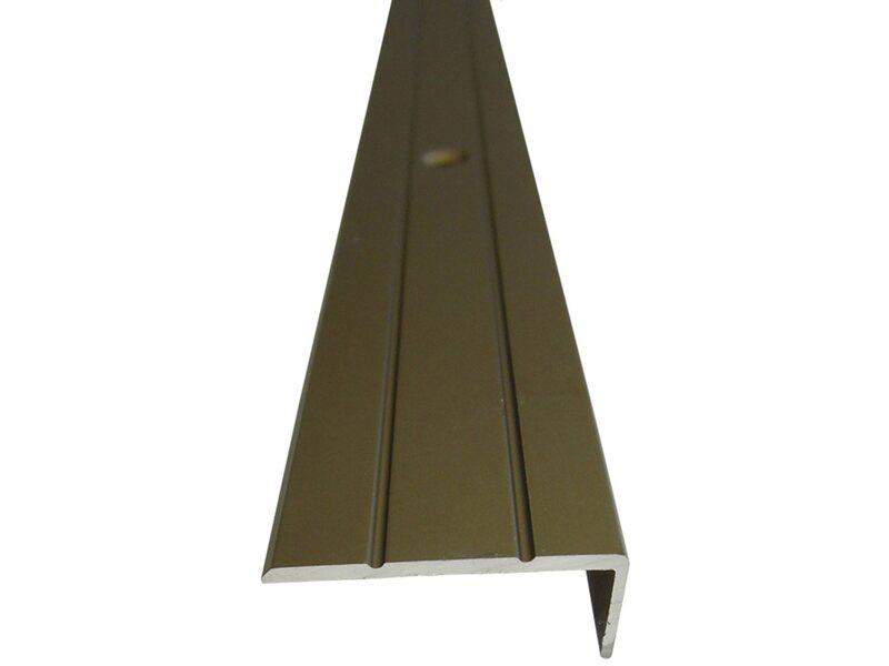 treppenwinkelprofil 25 mm x 10 mm bronze 1000 mm kaufen bei obi. Black Bedroom Furniture Sets. Home Design Ideas