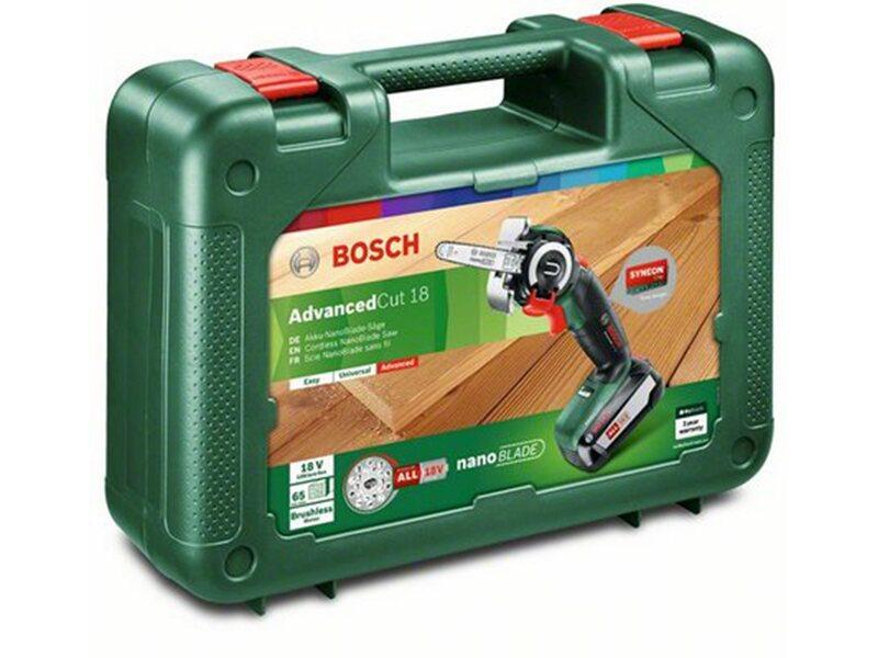 Bosch Akku Säge NanoBlade AdvancedCut 18 Solo