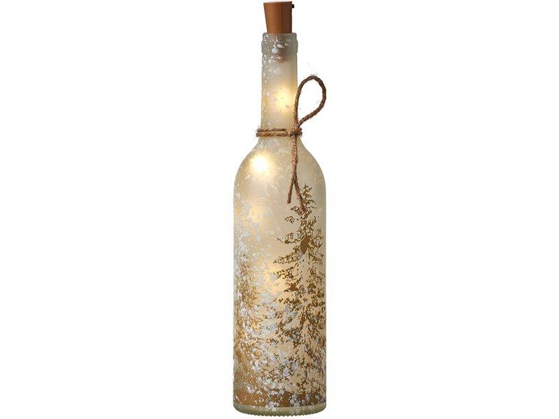 deko flasche hirsch baum wei 5 led batteriebetrieben 30 cm h he kaufen bei obi. Black Bedroom Furniture Sets. Home Design Ideas
