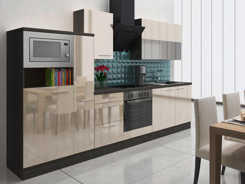 respekta premium k chenzeile rp310evacmis 310 cm vanille eiche grau nachbildung kaufen bei obi. Black Bedroom Furniture Sets. Home Design Ideas