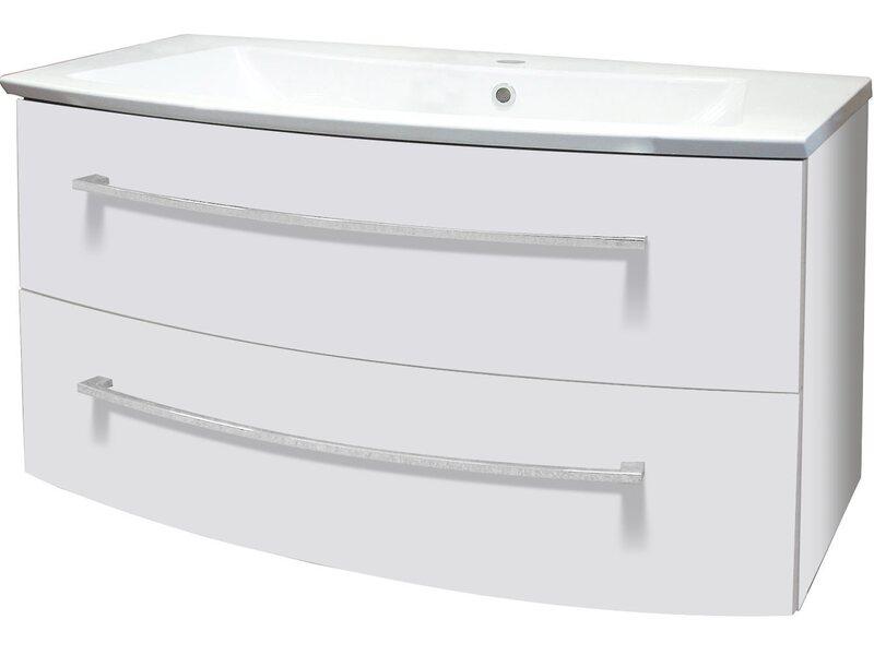 fackelmann waschbecken 100 cm rondo wei kaufen bei obi. Black Bedroom Furniture Sets. Home Design Ideas