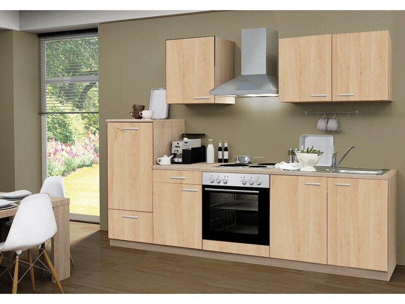 Menke Küchenzeile Classic 270 cm Sonoma-Eiche Nachbildung kaufen bei OBI