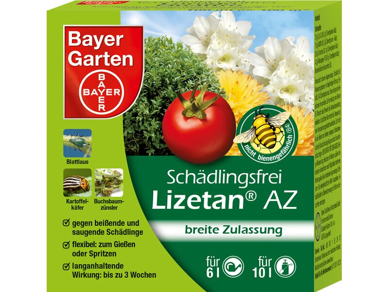 Bayer sch dlingsfrei lizetan az 30 ml kaufen bei obi for Mittel gegen fliegen in blumenerde