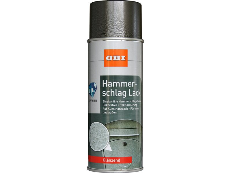 obi hammerschlag lack spray anthrazit gl nzend 400 ml. Black Bedroom Furniture Sets. Home Design Ideas