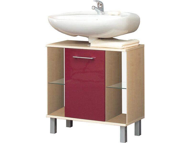 kesper waschbeckenunterschrank prato mit 1 t r rot kaufen bei obi. Black Bedroom Furniture Sets. Home Design Ideas