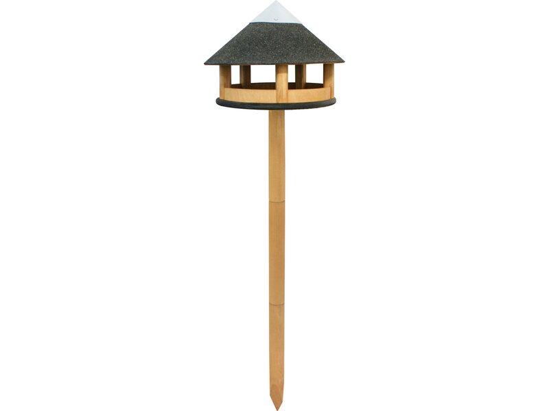 vogelhaus mit pfahl braun 39 cm x 150 cm kaufen bei obi. Black Bedroom Furniture Sets. Home Design Ideas