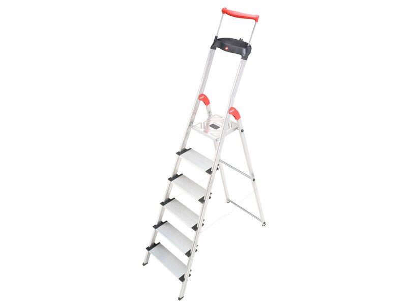 hailo stufenleiter mit griffschalensystem 6 stufig easyclix kaufen bei obi. Black Bedroom Furniture Sets. Home Design Ideas