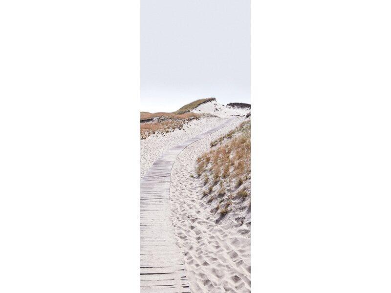 Eurographics deco glass trail in the dunes 80 cm x 30 cm for Deco glass bilder kuche