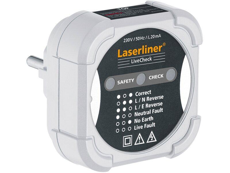 Ultraschall Entfernungsmesser Laserliner Metermaster Plus : Laserliner livecheck prüfhilfe kaufen bei obi
