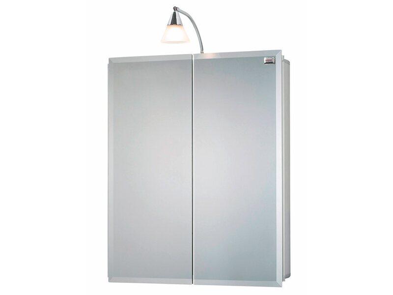 sieper spiegelschrank aluhit 53 cm alu eek d c kaufen bei obi. Black Bedroom Furniture Sets. Home Design Ideas
