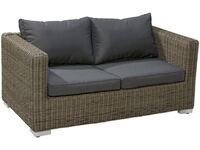 OBI Modulargruppe Stratford 2er Couch Nature Dark