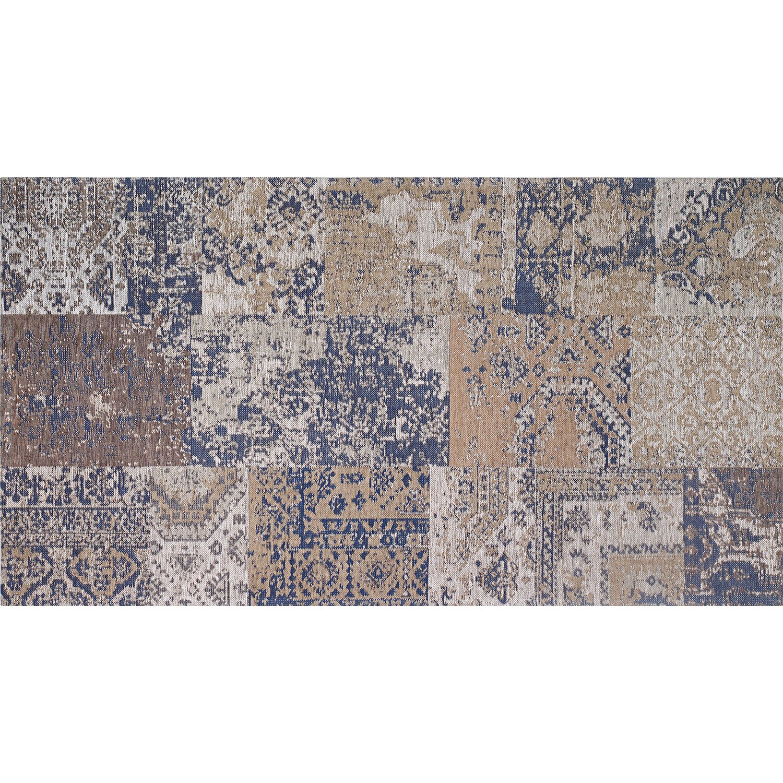 obi teppich molus blau 140 cm x 200 cm kaufen bei obi. Black Bedroom Furniture Sets. Home Design Ideas