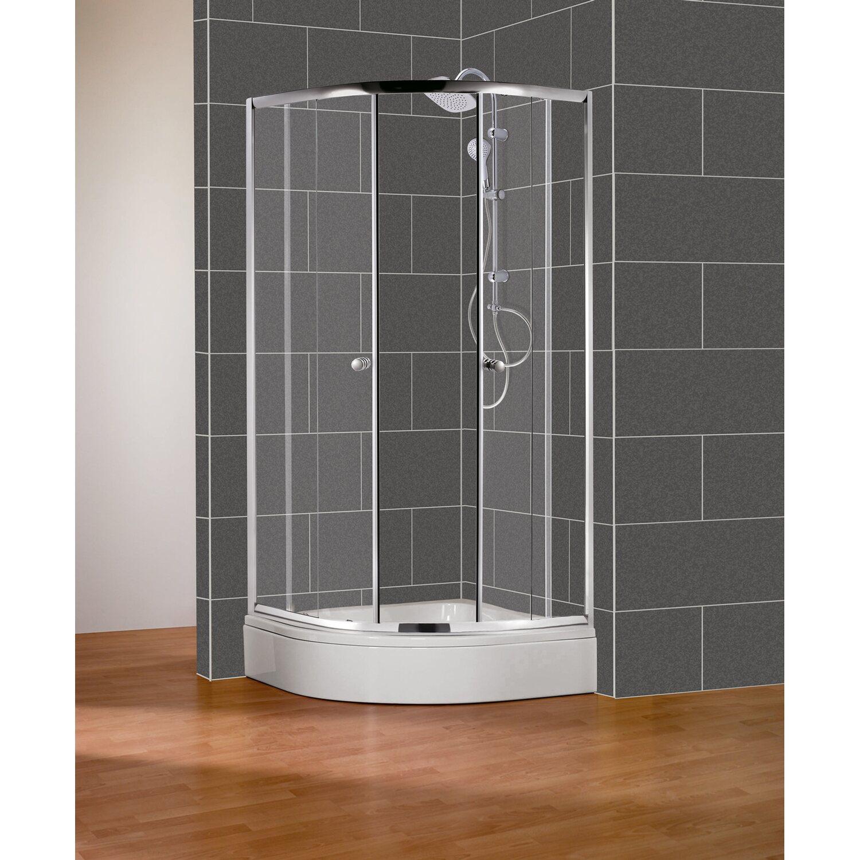cmi runddusche bristol 90 cm verchromt kaufen bei obi. Black Bedroom Furniture Sets. Home Design Ideas
