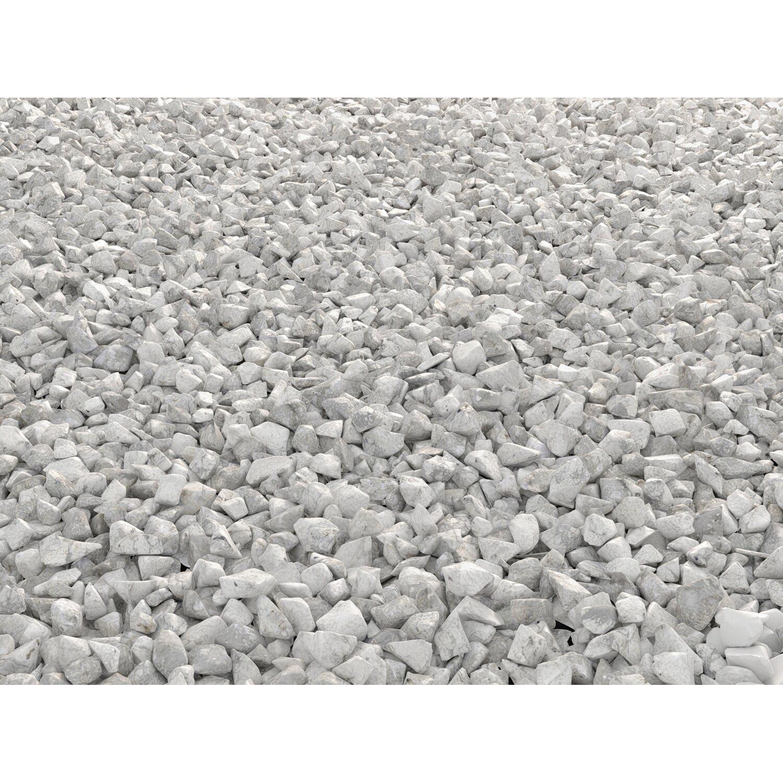 Marmorkies carrara wei 20 mm 40 mm 15 kg sack kaufen for Obi zierkies