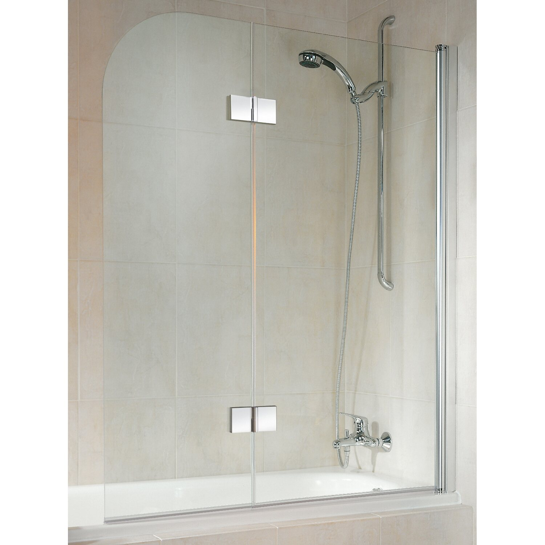 schulte badewannenaufsatz 2 teilig 114 cm x 140 cm echtglas chrom optik kaufen bei obi. Black Bedroom Furniture Sets. Home Design Ideas