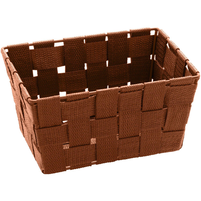 Wenko aufbewahrungskorb adria mini braun rechteckig kaufen for Planschbecken rechteckig obi