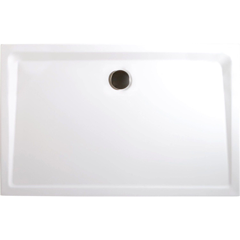 schulte duschwanne rechteck extra flach alpinwei 90 cm x 140 cm kaufen bei obi. Black Bedroom Furniture Sets. Home Design Ideas