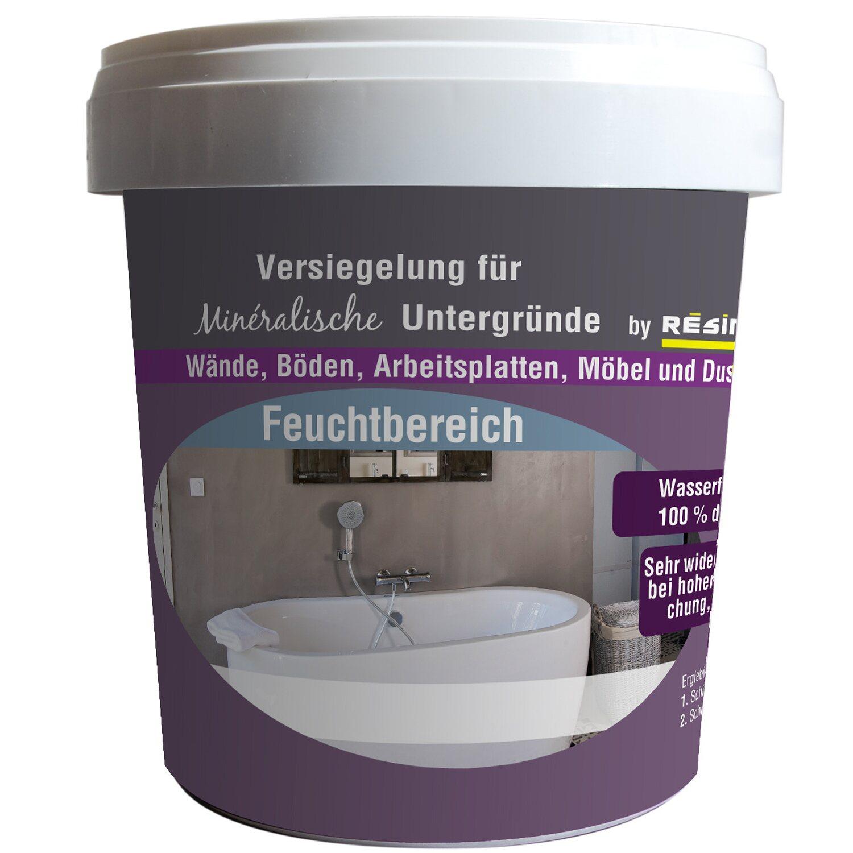 resinence beton mineral versiegelung matt 300 ml kaufen