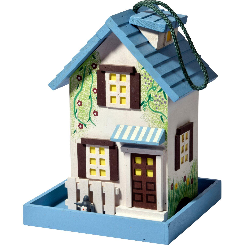 vogelfutterhaus holz bunt kaufen bei obi. Black Bedroom Furniture Sets. Home Design Ideas