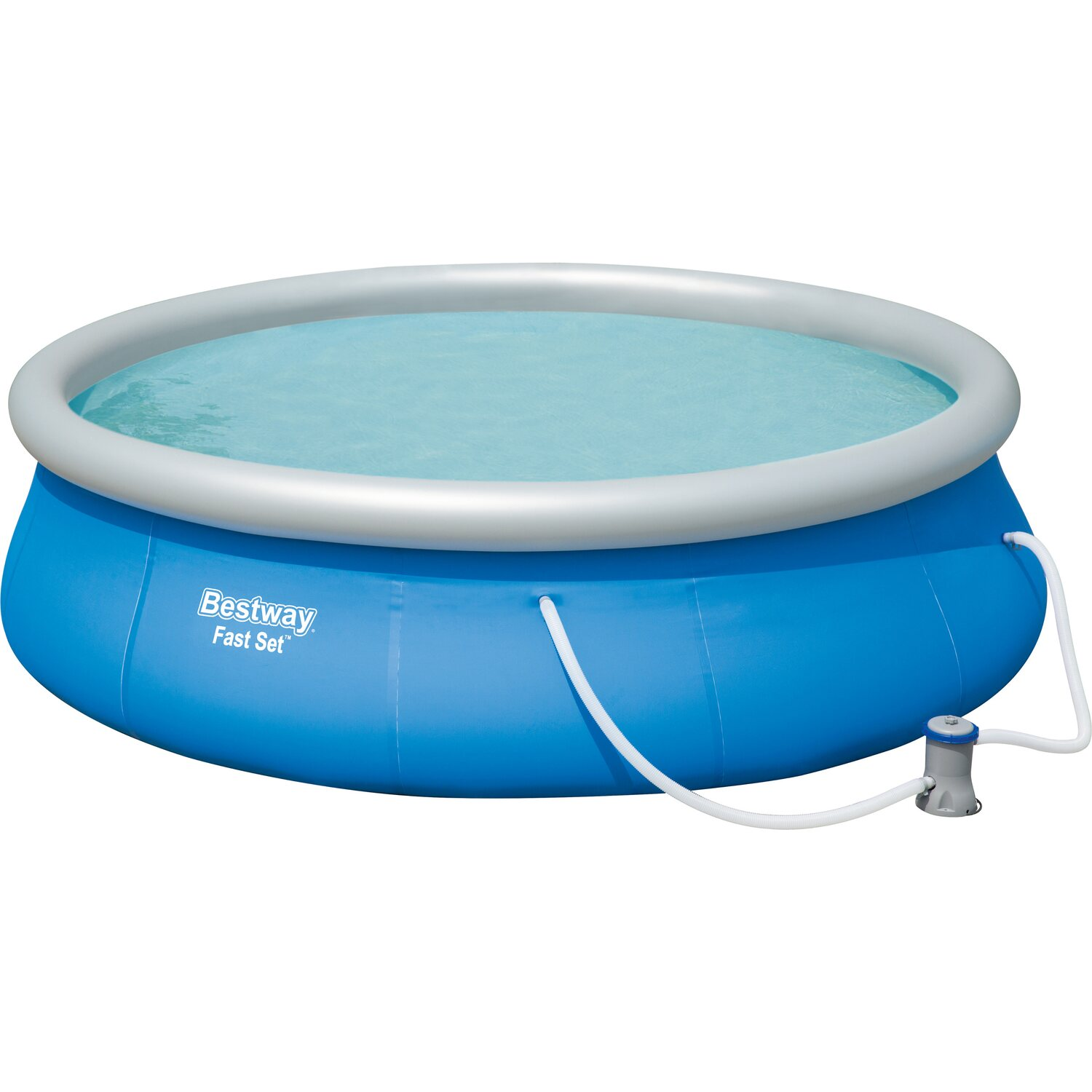 Bestway swimmingpool fast set 396 cm x 84 cm kaufen bei obi for Bestway pool obi