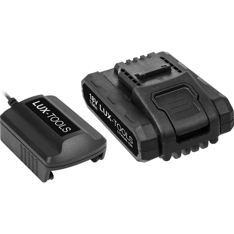 Schnellladegerät für LUX Akku Bohrschrauber ABS 18Li C & LUX