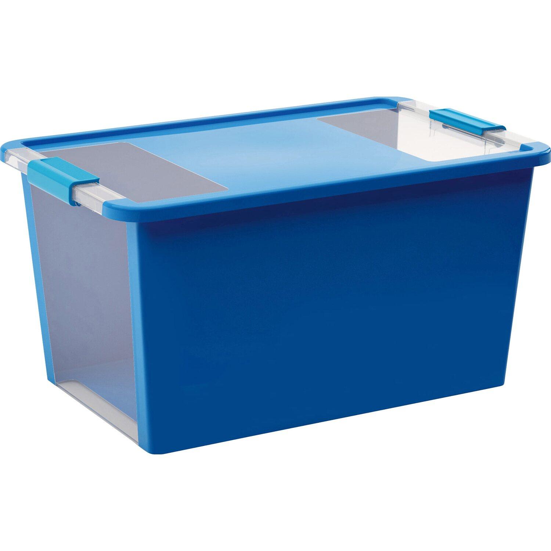 aufbewahrungsbox bi l mit deckel blau kaufen bei obi. Black Bedroom Furniture Sets. Home Design Ideas