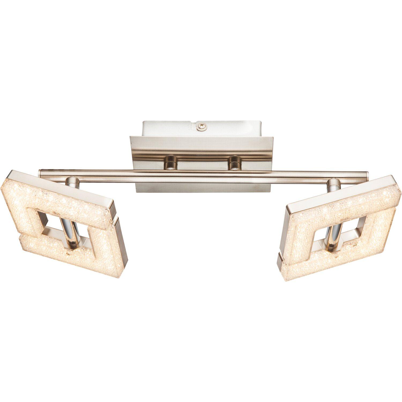 Globo LED-Spot EMMA Nickel matt EEK: A