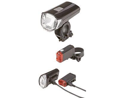 Prophete LED Batterieleuchten Set für's Fahrrad kaufen bei OBI