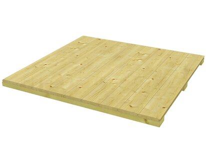 Holzfußboden Gartenhaus ~ Skan holz fußboden für gartenhaus crosscube gr. 3 b x t 253 cm x 253