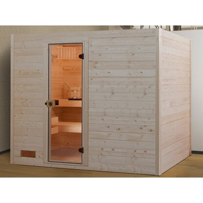 weka massivholz sauna 538 gr 4 ohne ofen kaufen bei obi. Black Bedroom Furniture Sets. Home Design Ideas