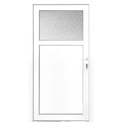 Kunststoff Nebeneingangstür 88 Cm X 198 Cm K501 88 DIN Rechts Weiß