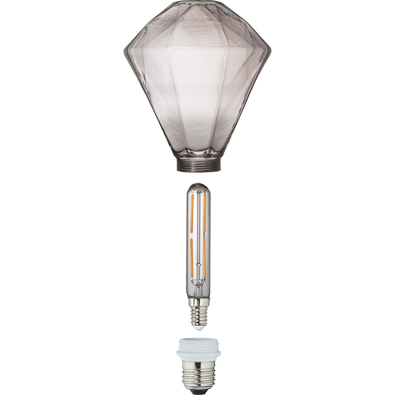 OBI LED-Filamentleuchtmittel Diamantenform E27/4 W (400 lm) Warmweiß EEK: A+