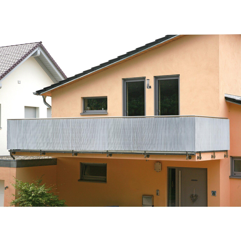 Balkonverkleidung fort Silber 180 cm x 300 cm kaufen bei OBI