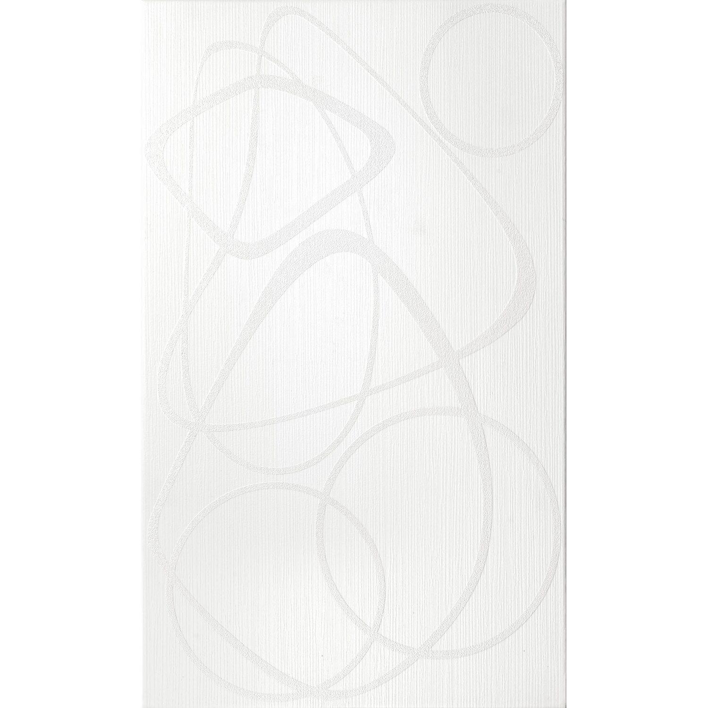 Sonstige 1er Volldekor Milano Weiß 30 cm x 50 cm