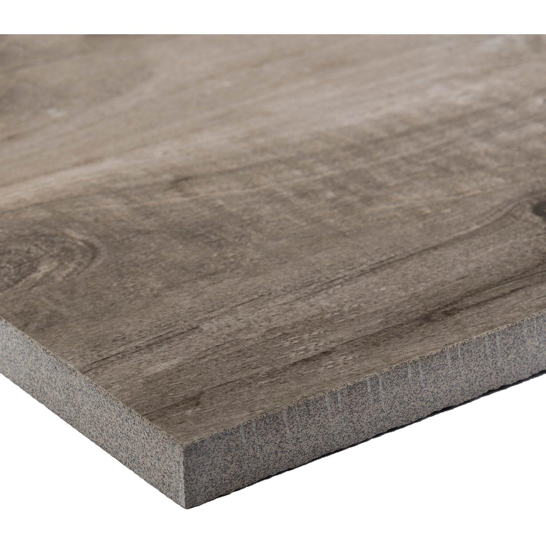 feinsteinzeug terrassenplatte timberwood grey 120 cm x 30 cm x 2 cm kaufen bei obi. Black Bedroom Furniture Sets. Home Design Ideas
