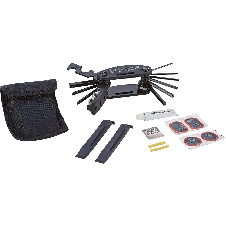 prophete fahrrad reparaturset mit multifunktionswerkzeug und g rteltasche kaufen bei obi. Black Bedroom Furniture Sets. Home Design Ideas