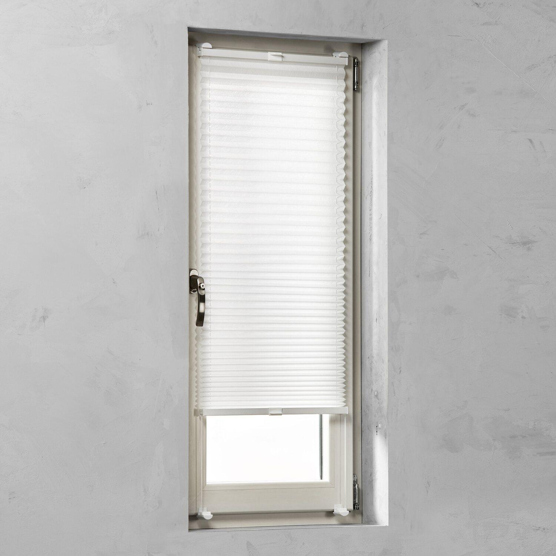 cocoon plissee verspannt 20 mm wei 75 cm x 130 cm kaufen bei obi. Black Bedroom Furniture Sets. Home Design Ideas