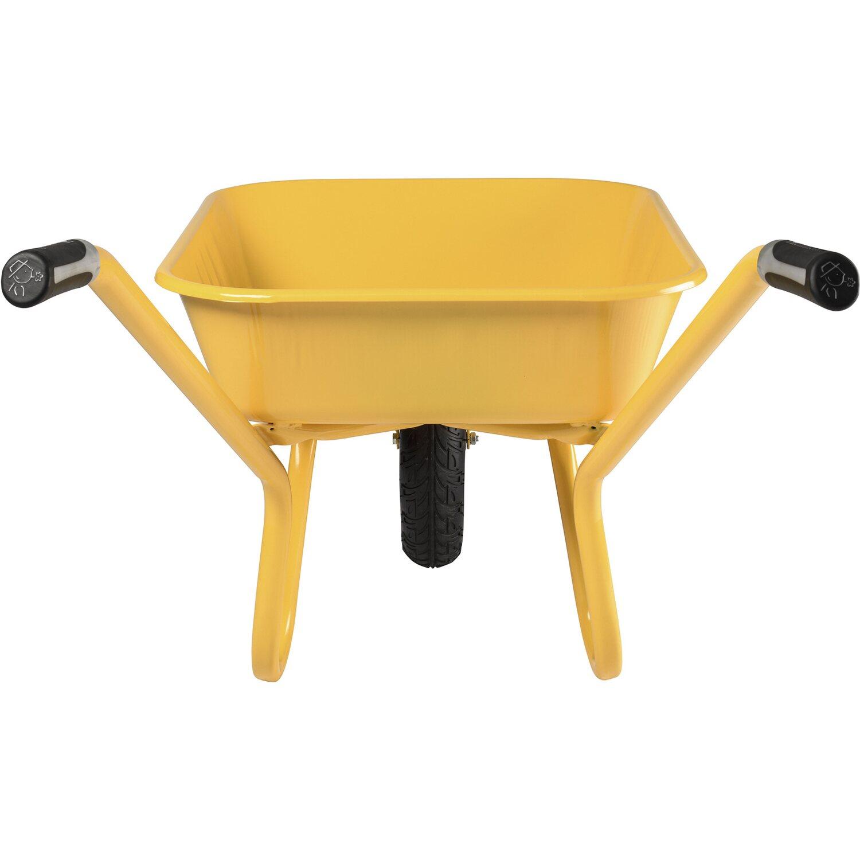 haemmerlin schubkarre expert alpha 100 l gelb lackiert kaufen bei obi. Black Bedroom Furniture Sets. Home Design Ideas
