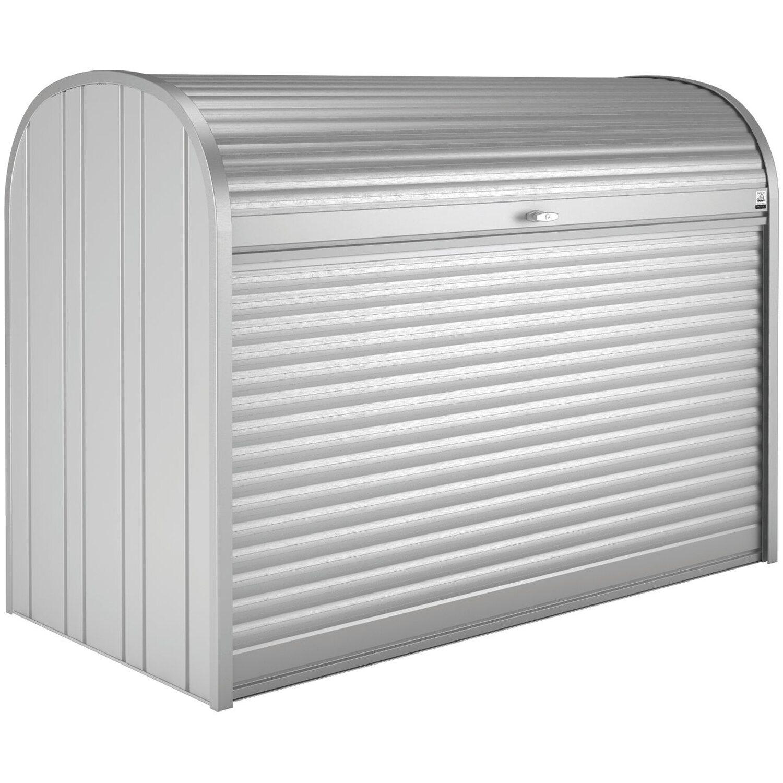 biohort storemax 190 gartenbox silber metallic kaufen bei obi. Black Bedroom Furniture Sets. Home Design Ideas