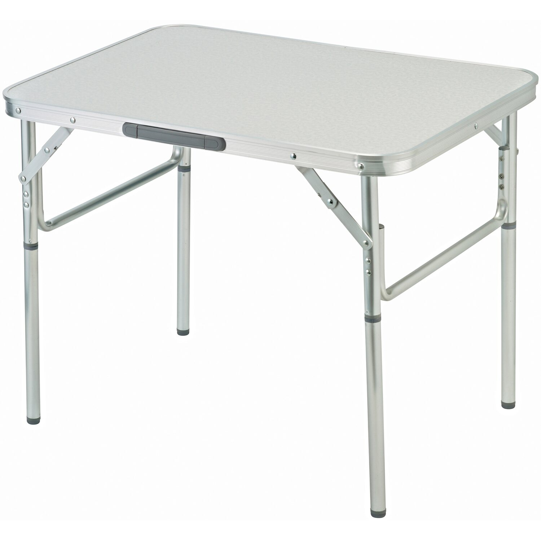 camping tisch silber 70 cm x 55 cm kaufen bei obi. Black Bedroom Furniture Sets. Home Design Ideas