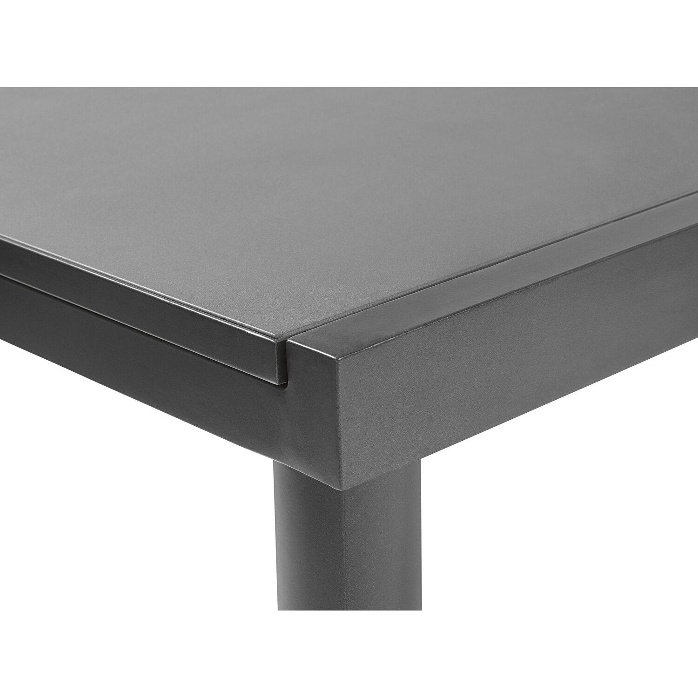 obi glas gartentisch harris 180 240 cm x 100 cm ausziehbar anthrazit kaufen bei obi. Black Bedroom Furniture Sets. Home Design Ideas