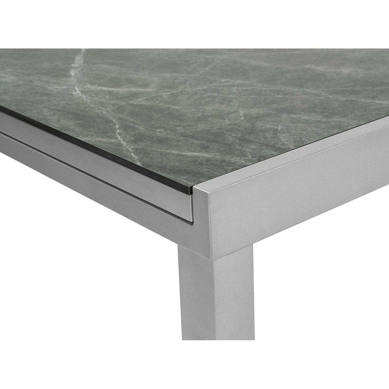 obi hpl gartentisch harris 180 240 cm x 100 cm ausziehbar silber kaufen bei obi. Black Bedroom Furniture Sets. Home Design Ideas