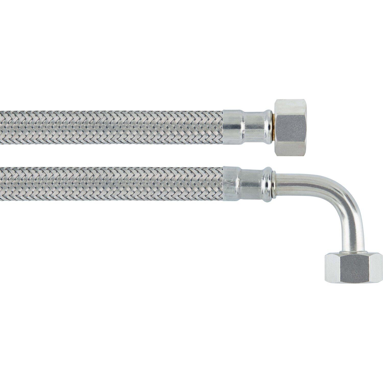 OBI Flex-Winkel-Anschlussschlauch 14,9 mm (G 3/8) x 200 mm