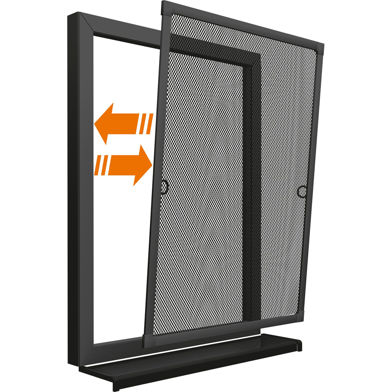 obi alurahmen fenster 100 cm x 120 cm anthrazit kaufen bei obi. Black Bedroom Furniture Sets. Home Design Ideas