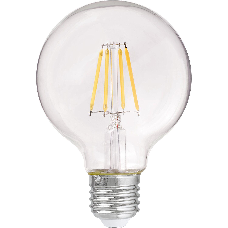 OBI LED-Filament-Leuchtmittel Globeform E27 / 3,7 W (470 lm) Warmweiß EEK: A++