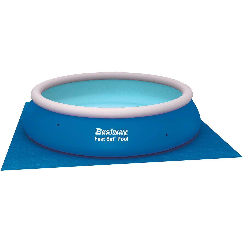 Bestway pool bodenplane 3 96 m x 3 96 m kaufen bei obi for Bestway obi