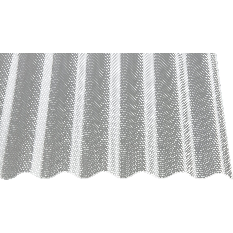 Gutta Acryl-Profilplatte Sinus 76/18 Wabe Transparent 300 cm x 104,5 cm