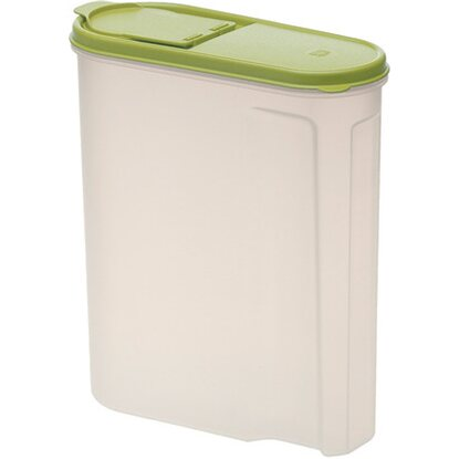 Müslibox Jean Grün-Transparent 2,6 l