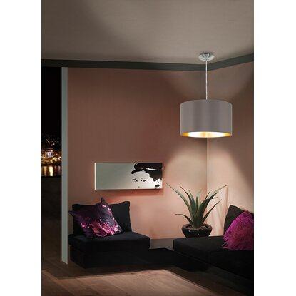 eglo pendlleuchte maserlo 1 flammig cappuccino eek e a kaufen bei obi. Black Bedroom Furniture Sets. Home Design Ideas